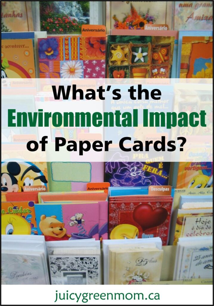 What's the Environmental Impact of Paper Cards?