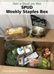 SPUD weekly staples box juicygreenmom