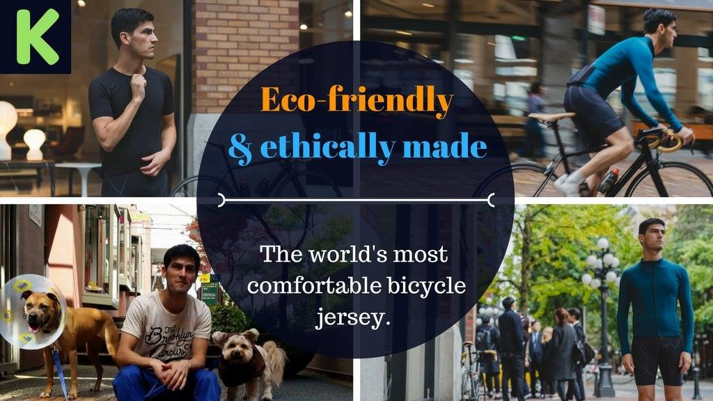 Pillar Heights Kickstarter for the World's Most Sustainable and Comfortable Bicycle Jersey