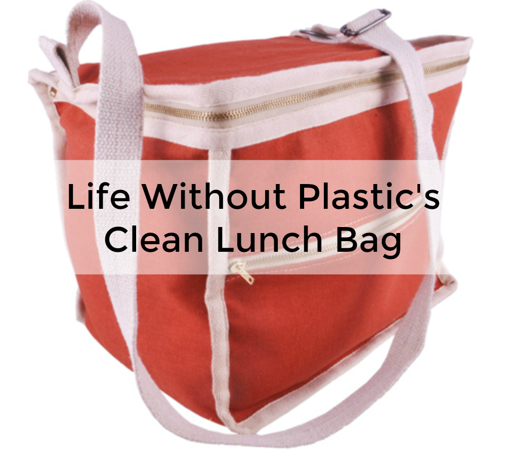 Kickstarter Campaign: Plastic Free Zero Waste Clean Lunch Bag from Life Without Plastic