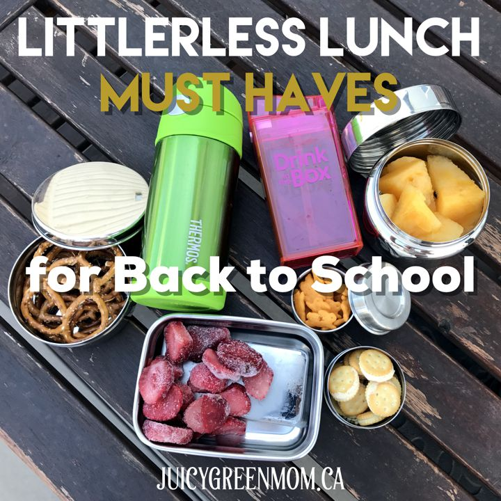 Litterless Lunch Must Haves for Back to School