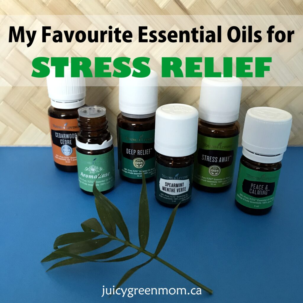 My Favourite Essential Oils for Stress Relief