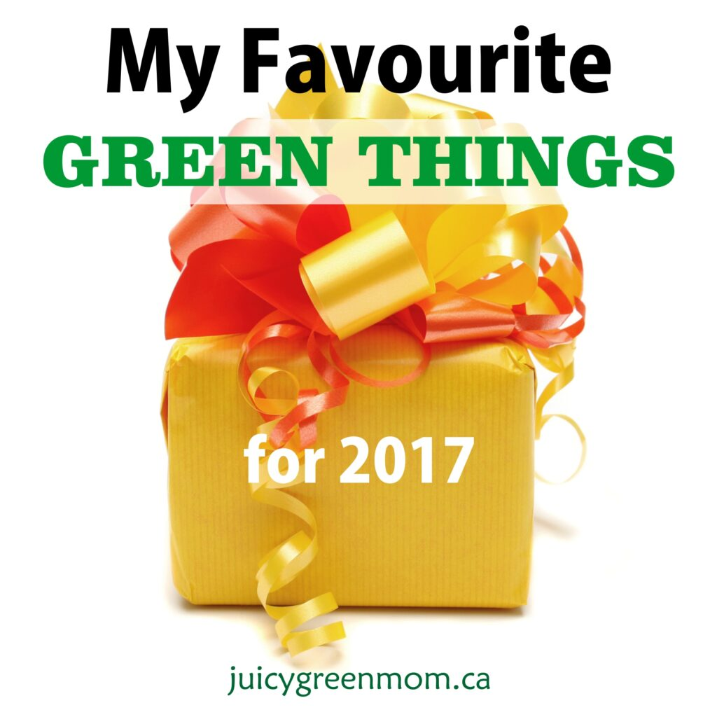 My Favourite Green Things for 2017