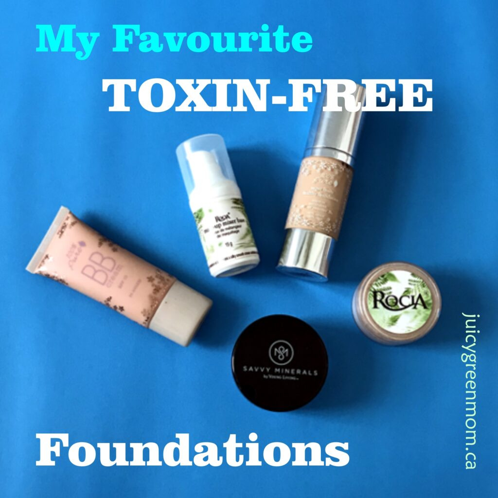 My Favourite Toxin Free Foundations