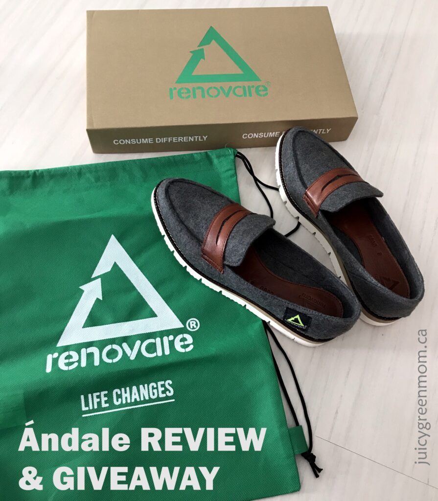 Renovare Shoes: Ándale REVIEW & GIVEAWAY