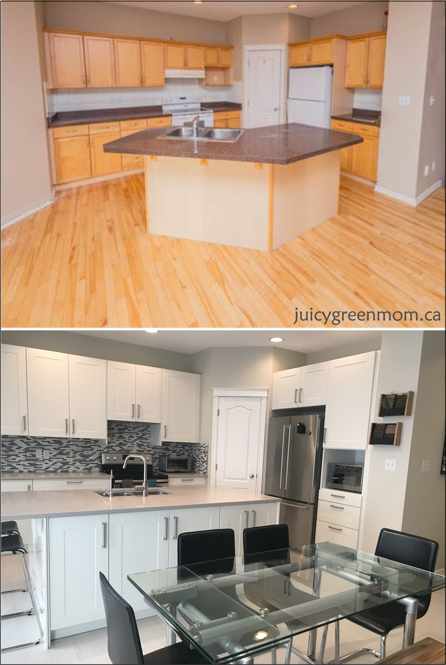 House Renovations Marmoleum Click Flooring And Farrow And Ball Paint Kitchen  Juicygreenmom