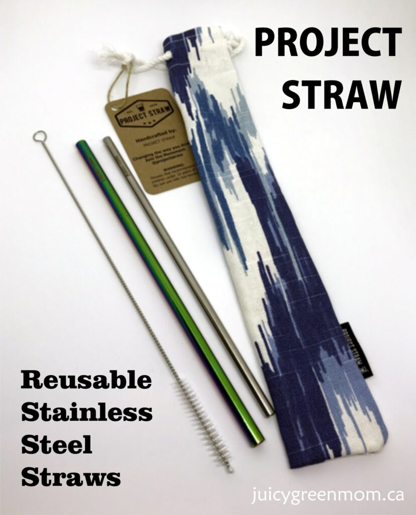 Project Straw: Reusable Stainless Steel Straws