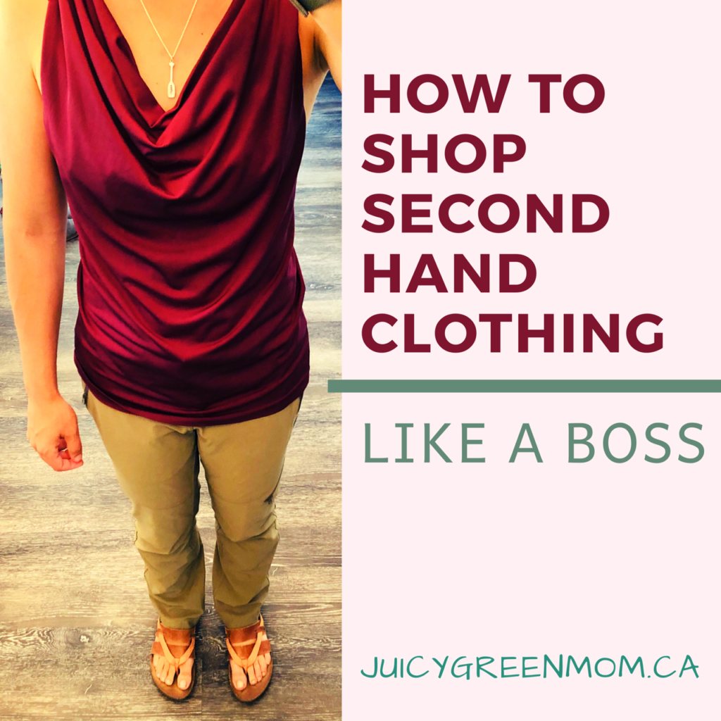 How to Shop Second Hand Clothing Like a Boss