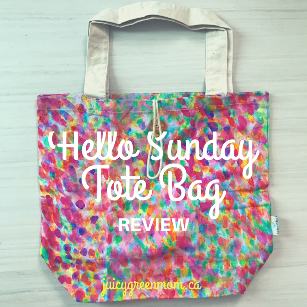 Hello Sunday Shopping Tote Bag Review